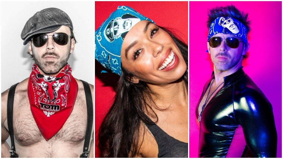 Kweer Cards Touts Exclusive Tom of Finland Bandanas