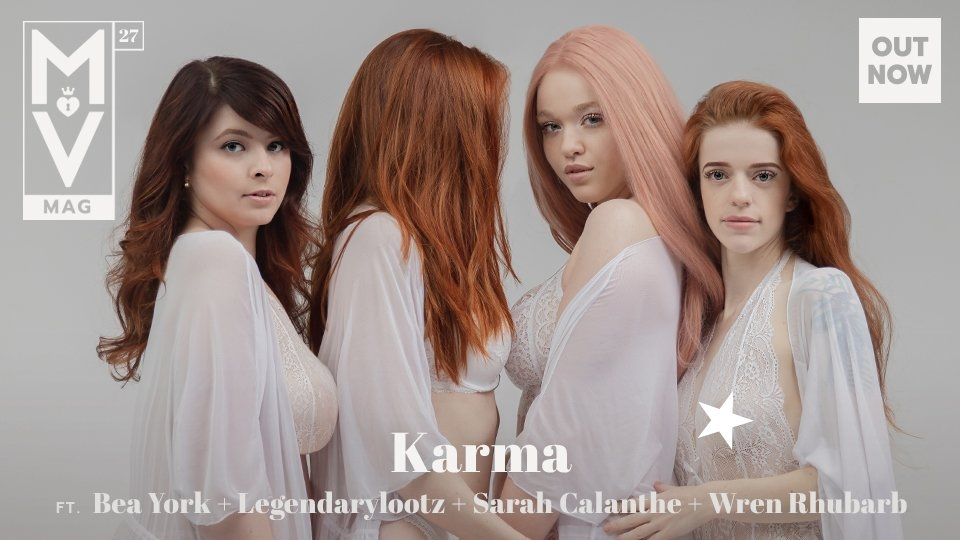 ManyVids Releases MV Mag 27, 'Karma'