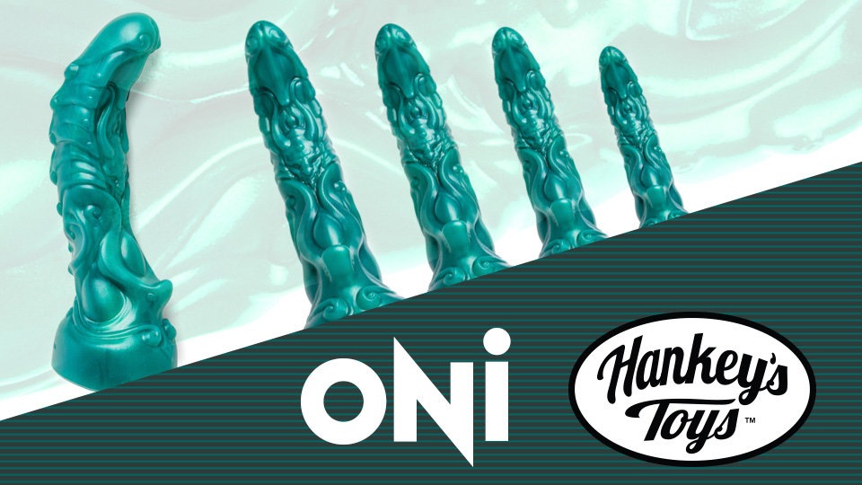 Hankey's Toys Unleashes Fantasy Oni Dildo