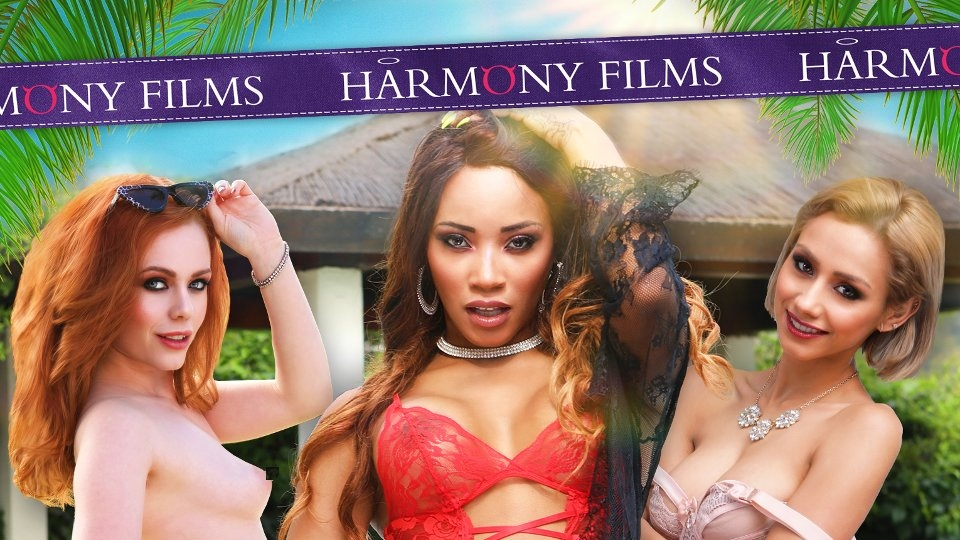 Euro-Beauties Are 'Two-Timing in the Sun' for Harmony Films
