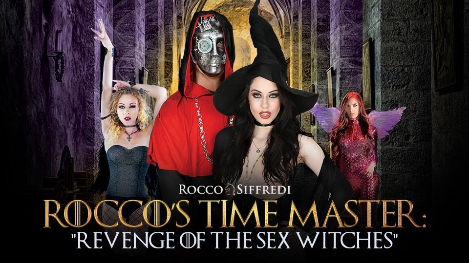 Rocco Siffredi Battles New 'Sex Witches' on Adult Time
