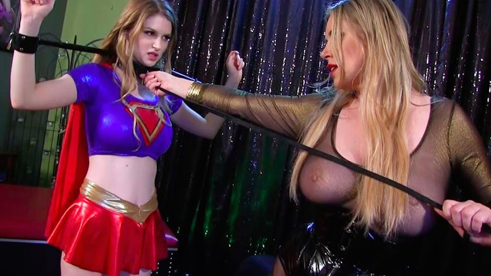Bunny Colby Stars As Supergirl and Mike Adriano's Nympho in New Titles