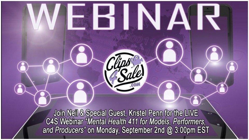Kristel Penn, Clips4Sale Partner on Mental Health Webinar