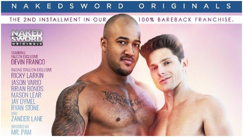 Devin Franco, Jason Vario Are 'Bare' for NakedSword Originals