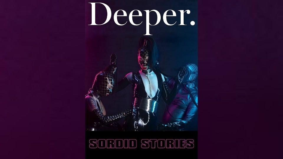 Kayden Kross Reveals 'Sordid Stories' in New Deeper Release
