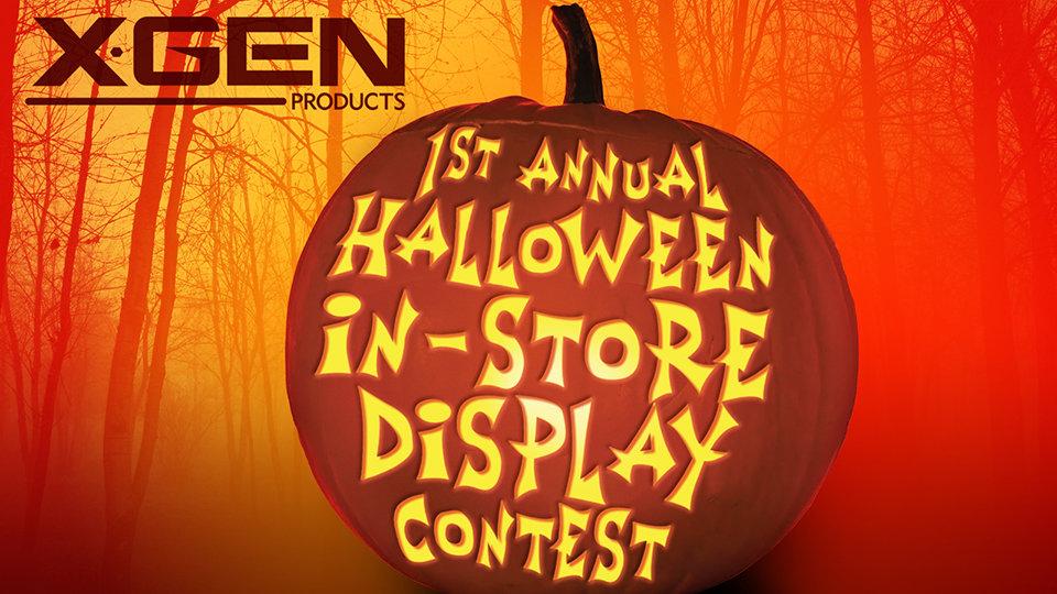 Xgen Announces Halloween In-Store Display Contest for Retailers
