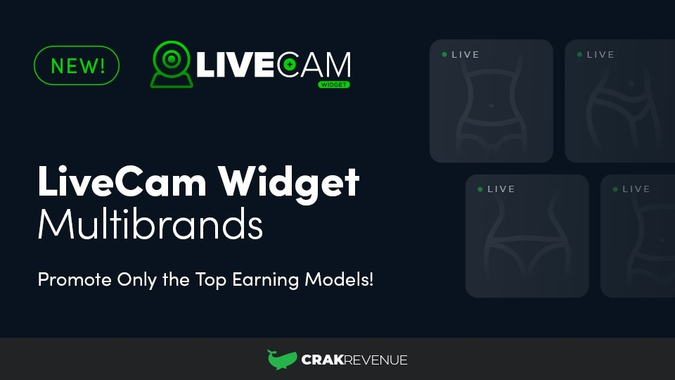 CrakRevenue Offers Multi-Brand Cam Widget