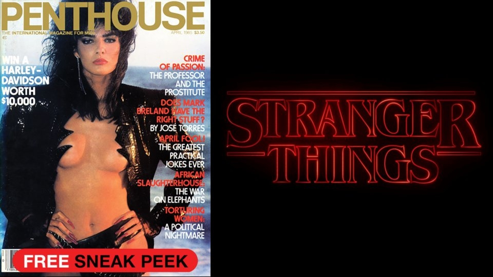 Penthouse Honors 'Stranger Things' Cameo With Contest