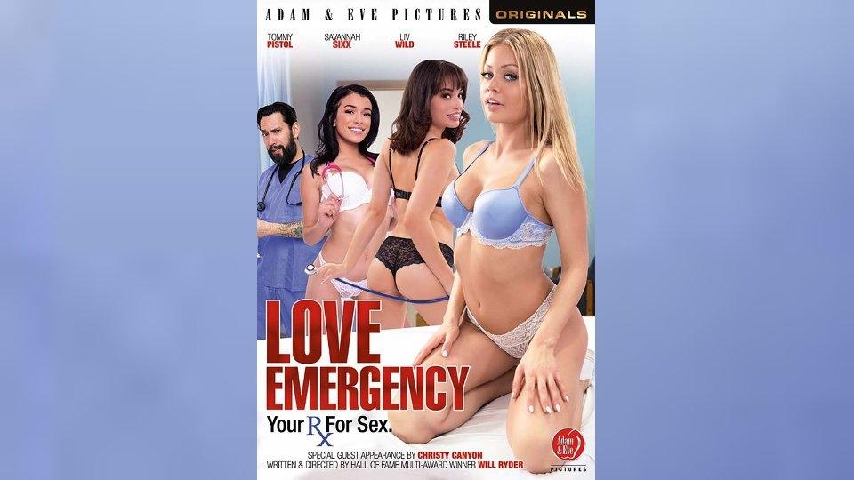 Adam & Eve Box Covers Create a Sexy 'Love Emergency'