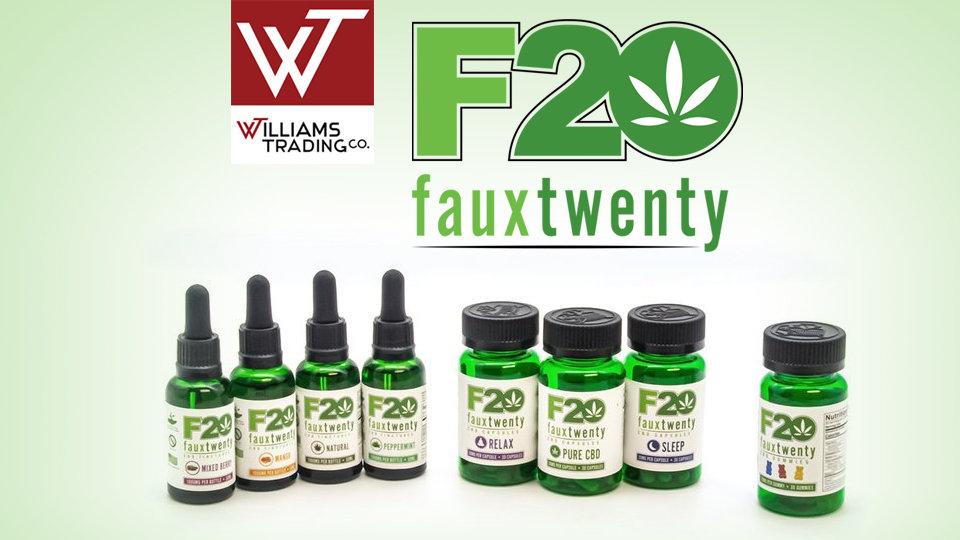 Williams Trading Debuts New Faux 20 CBD Line