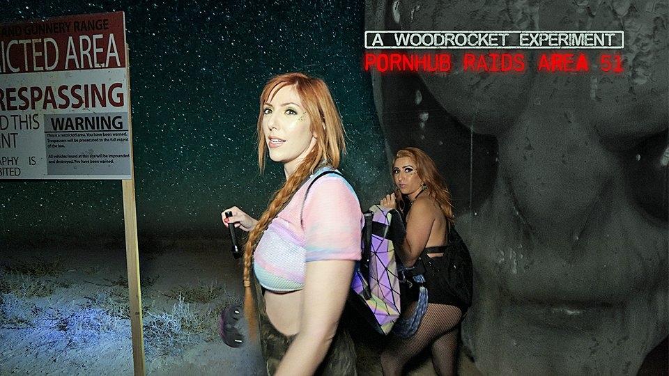 Pornhub Raids 'Area 51' for WoodRocket's Newest Scene