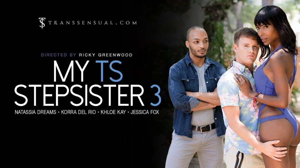 Natassia Dreams Tempts in 'My TS Stepsister 3' for TransSensual