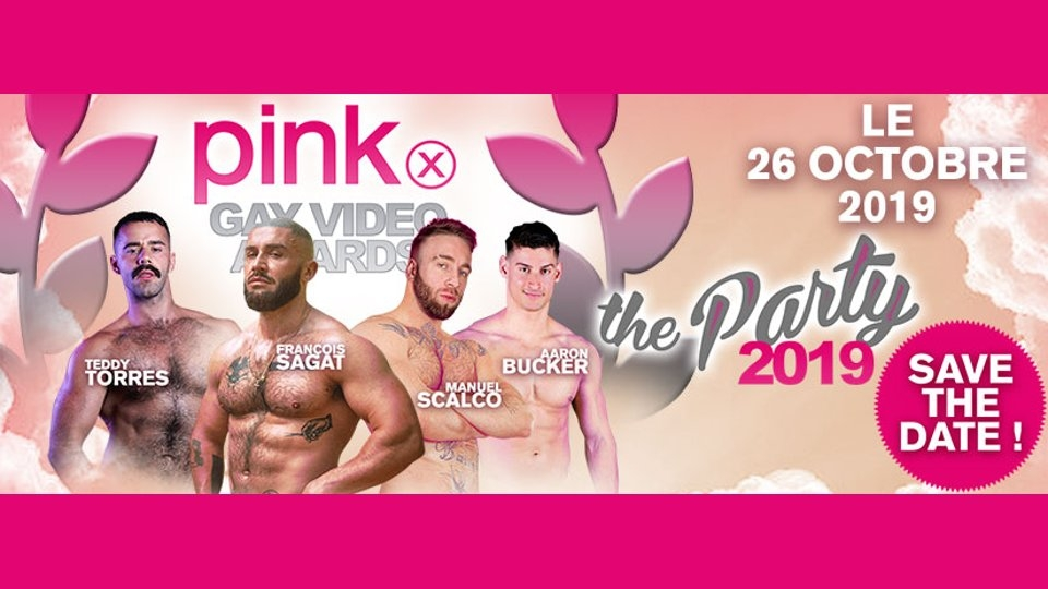 8th Annual PinkX Gay Video Awards Set for Paris Next Month