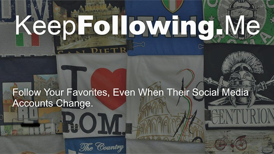 Dominic Ford Launches Social Media Tool KeepFollowing.me