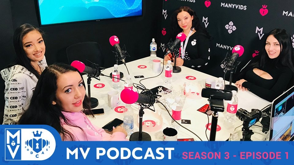 ManyVids Debuts 3rd Season of 'MV Podcast'