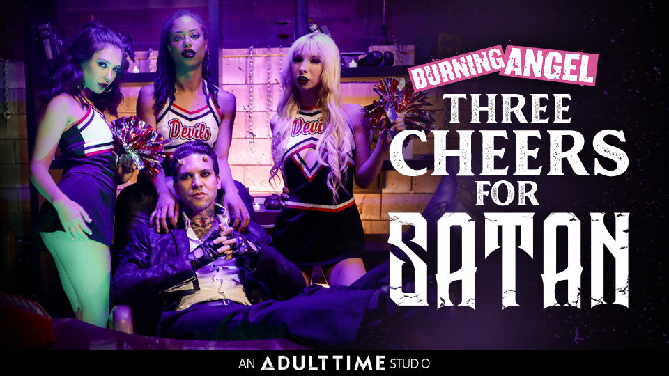 Joanna Angel, Small Hands Cheer for 'Satan' on Adult Time