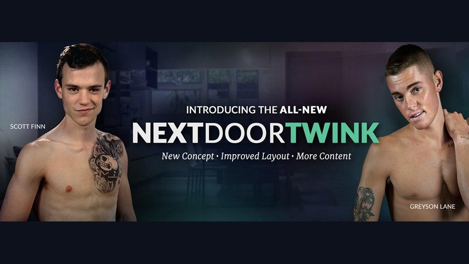Next Door Studios Relaunches NextDoorTwink.com