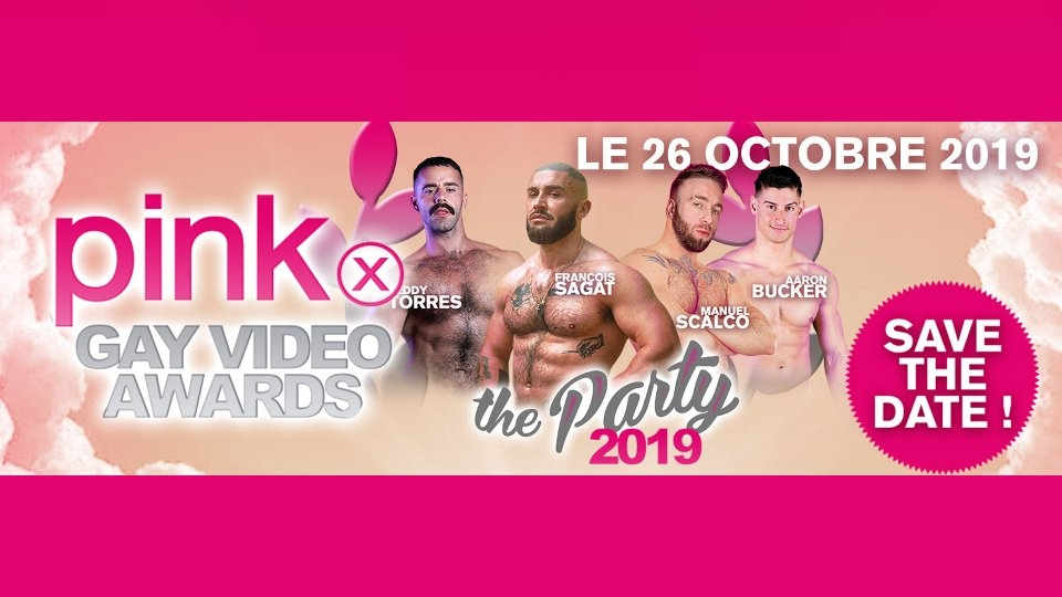 PinkX Gay Video Awards Show Announces Official Afterparty