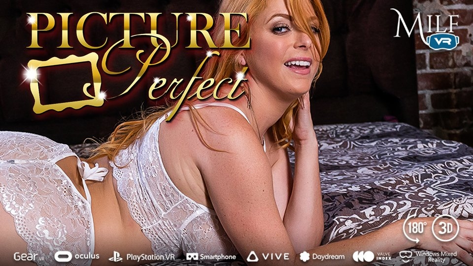 Penny Pax Strikes a Sexy Pose for MILF VR's 'Picture Perfect'