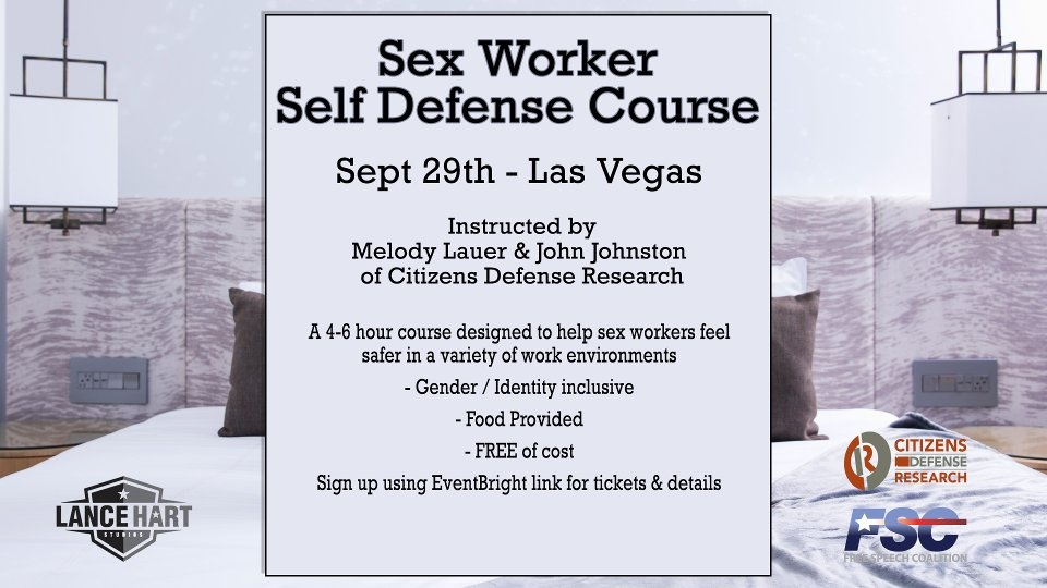 Lance Hart to Lead Self-Defense Class for Adult Biz on Sunday