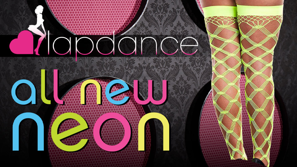 Xgen Products Shipping Lapdance Lingerie Neon Thigh-Highs