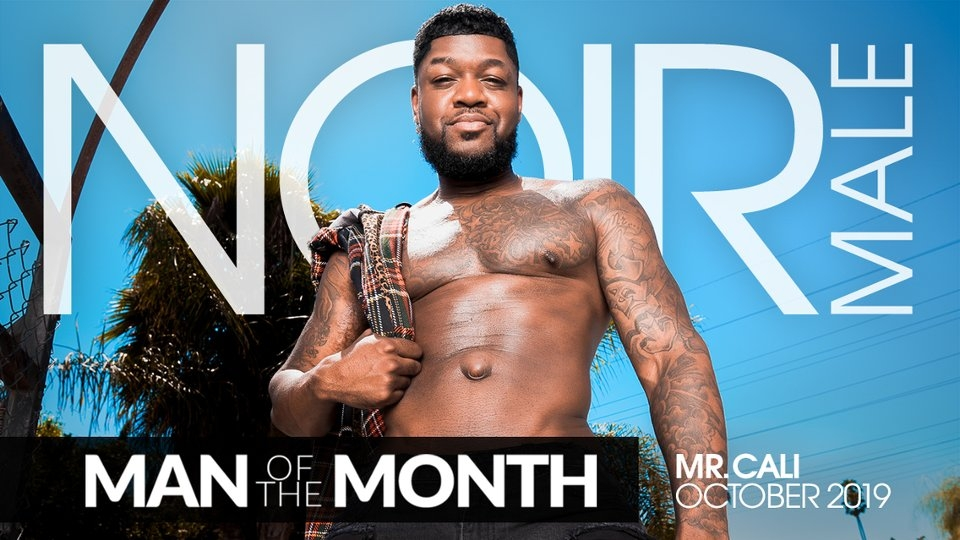 Mr. Cali Is Noir Male's October 'Man of the Month'