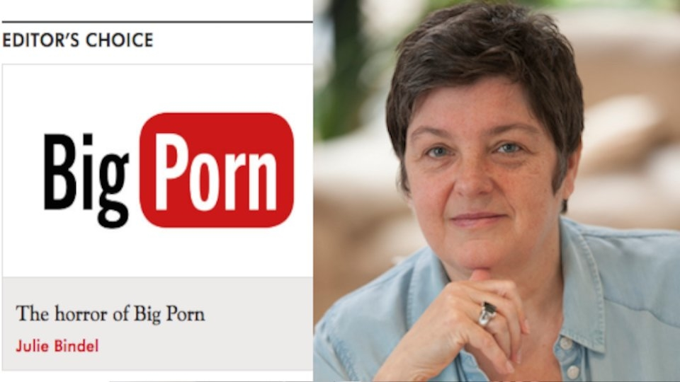 Spectator USA Magazine Debuts With Screed by Anti-Porn Activist Julie Bindel