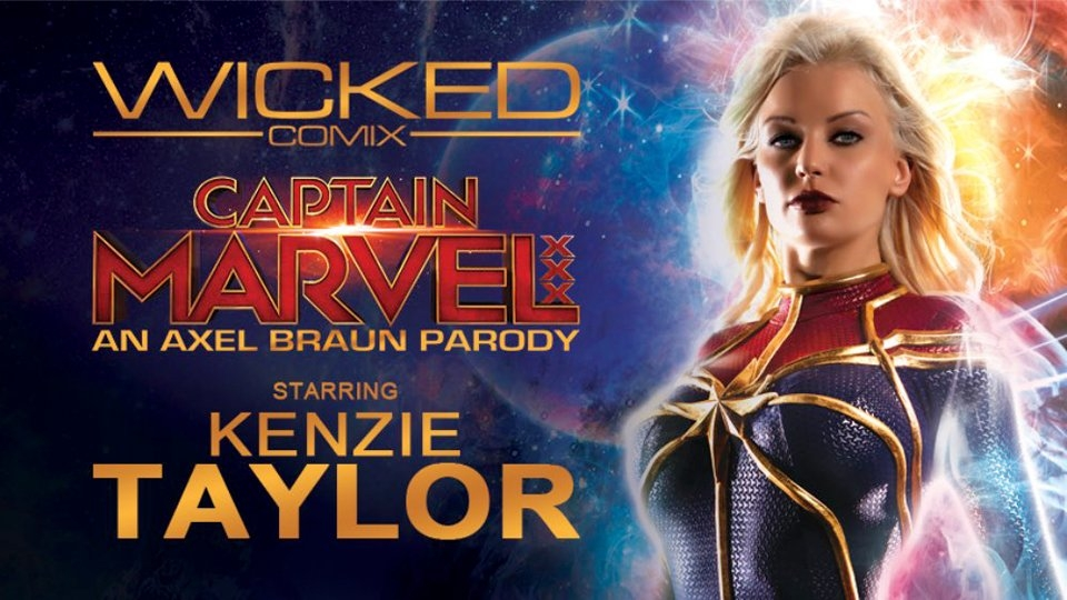 Axel Braun Unveils Trailer for Wicked's 'Captain Marvel XXX'