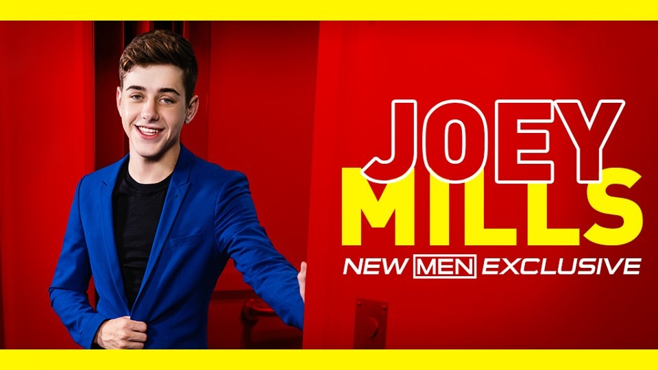 Twink Star Joey Mills Inks Exclusive Pact With Men.com