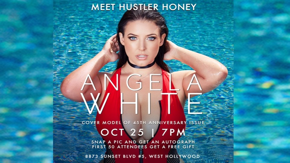 Hustler Hollywood Hosts 'Up-Close and Personal' Event With Angela White
