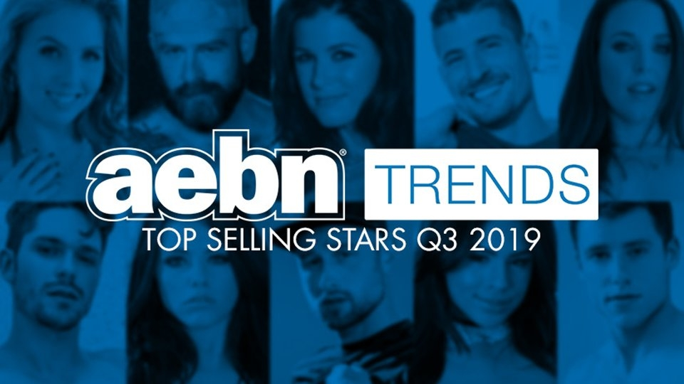AEBN Reveals Q3's Top Gay, Straight Adult Stars