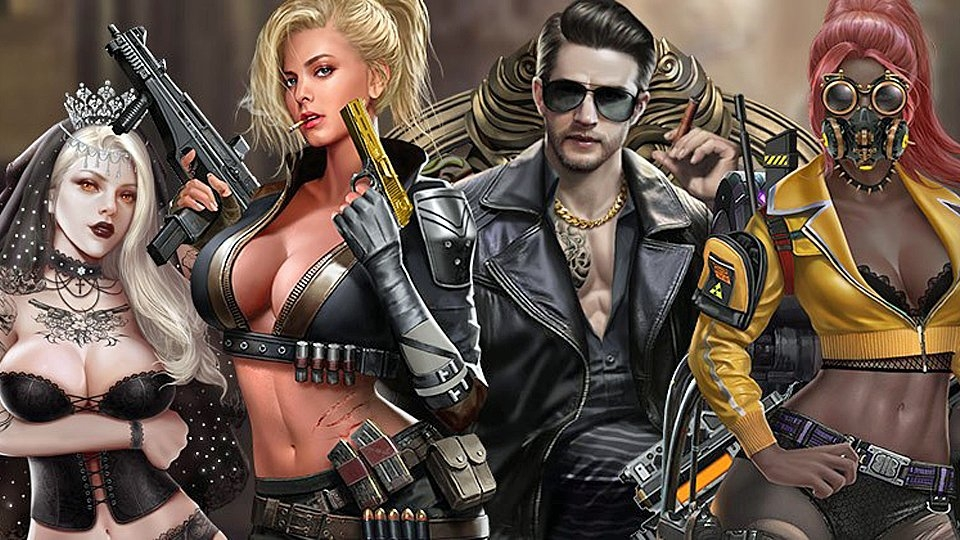 Nutaku Offers Urban Creation War Game 'King of Wasteland'