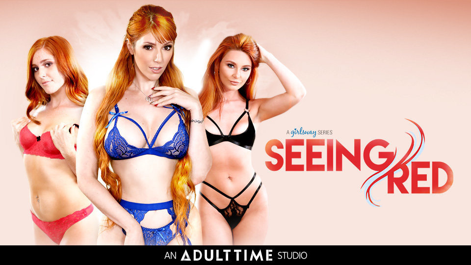 Girlsway is 'Seeing Red' in All-Ginger Limited Series