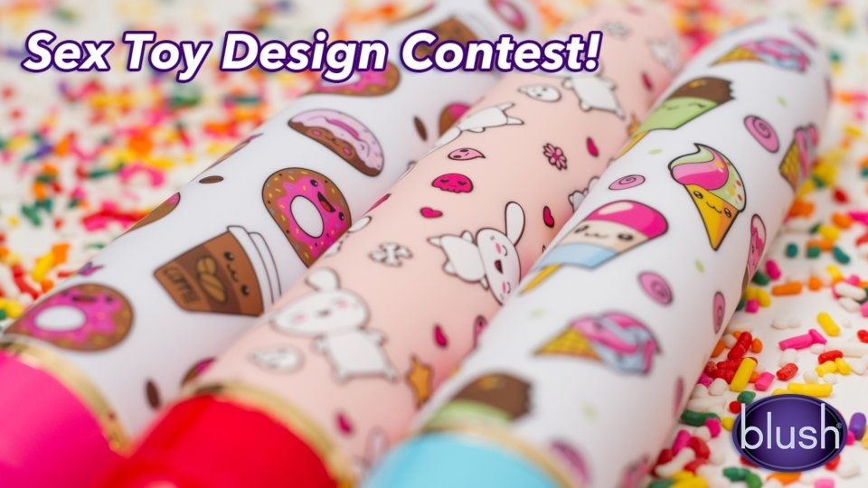 Blush Announces Design Contest for 'Artist Series' of Vibes