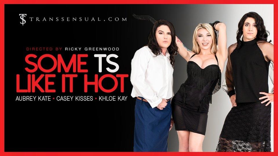 Aubrey Kate Likes it 'Hot' in TransSensual Erotic Parody