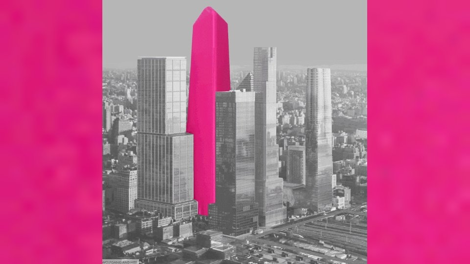 Design Studio Creates Dildos to Critique New York Building Boom