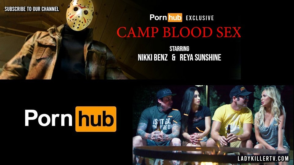 LadyKillerTV to Premiere 'Camp Blood Sex' Today on Pornhub