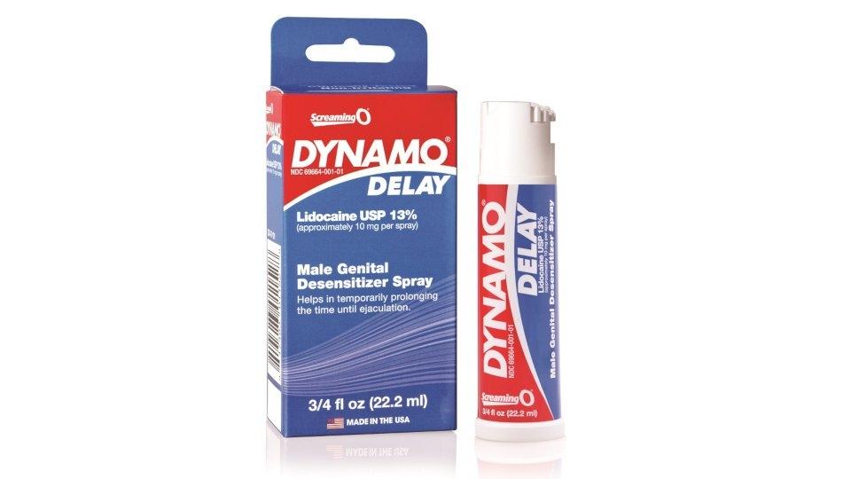 Screaming O Dynamo Delay Spray to Hit More Retail Shelves