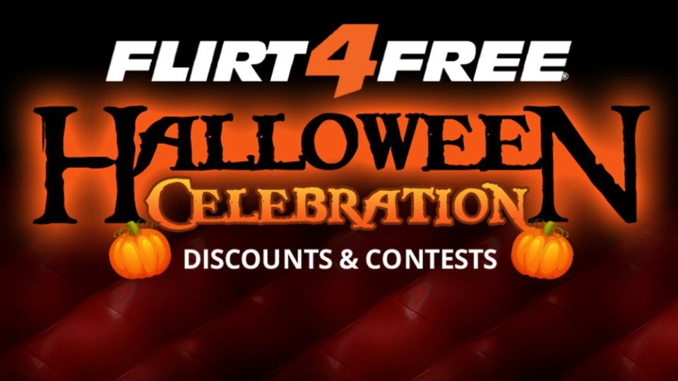 Flirt4Free Celebrates Halloween With $25K in Prizes Up for Grabs