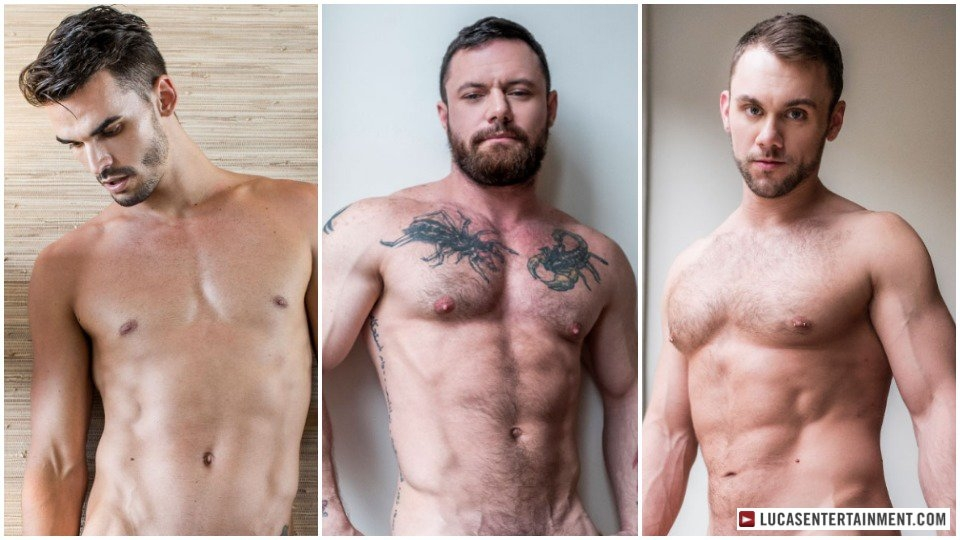Studly Sergeant Miles is Insatiable in New Lucas Threesome