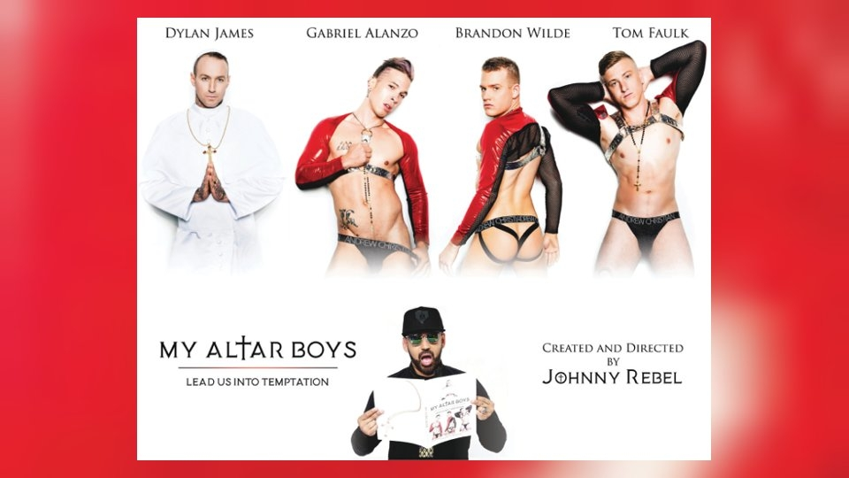 Taboo Art Project 'My Altar Boys' Debuts With Website, Photobook