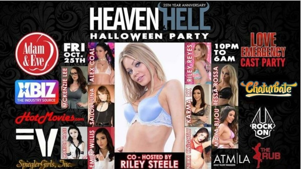 'Heaven & Hell' Halloween Bash Adds Chaturbate as Sponsor