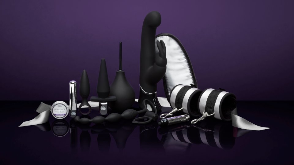 Lovehoney Launches New Fifty Shades of Grey Collection, Kits