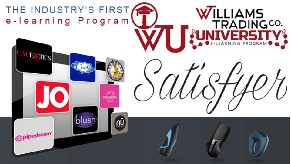 New Satisfyer e-Learning Course Available on Williams Trading University