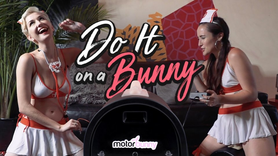 Motorbunny Models Try for Surgical Precision in 'Do It On a Bunny' Challenge