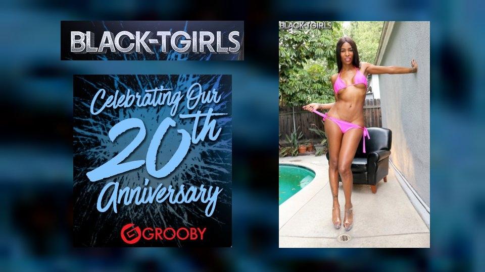 Grooby's Black-TGirls.com Marks 20th Anniversary