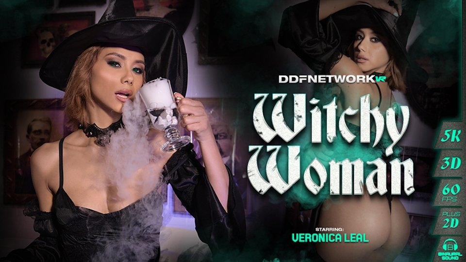 Veronica Leal is a 'Witchy Woman' in VR for DDF Network