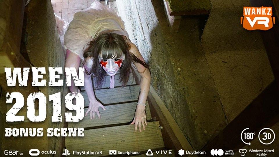 Alex Blake Frightens Fans in Free WankzVR Halloween Bonus Scene