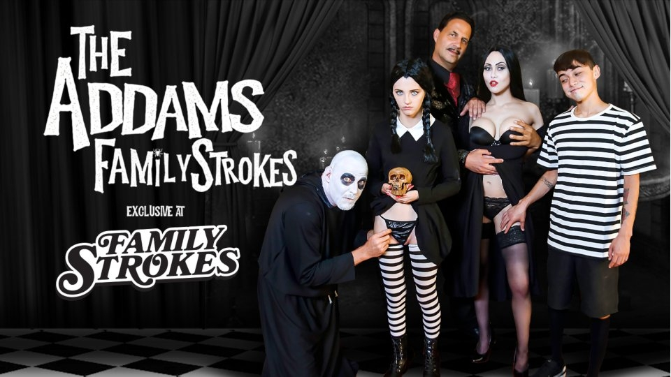 Family Strokes Parodies Iconic Spooky Family in Latest Release