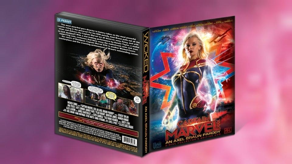 Wicked's 'Captain Marvel XXX: An Axel Braun Parody' Flies Into DVD Release